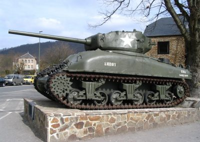 Sherman at La Roche