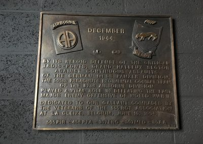 82nd Airborne versus 1st SS plaque